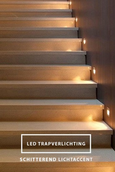 LED Trapverlichting banner